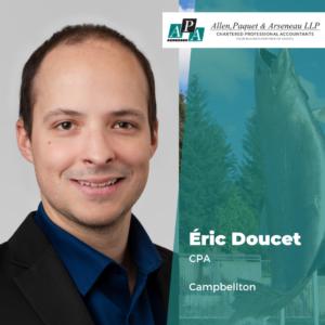 Eric Doucet, CPA