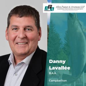 Danny Lavallée, B.A.A.