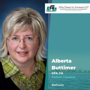 Alberta Buttimer, CPA, CA