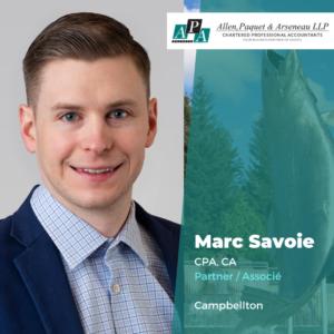 Marc Savoie, CPA, CA
