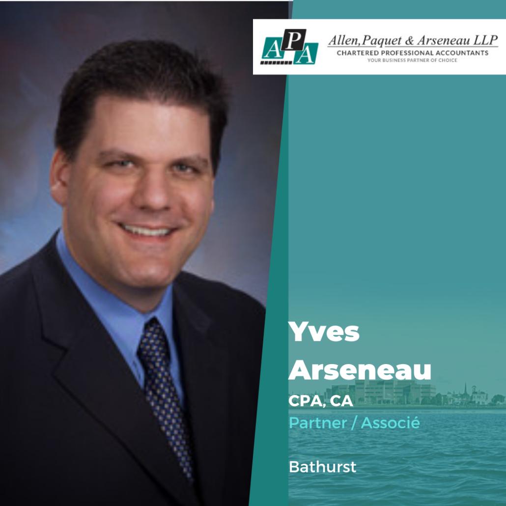 Yves Arseneau, CPA, CA