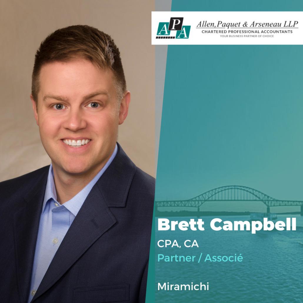 Brett Campbell, CPA, CA