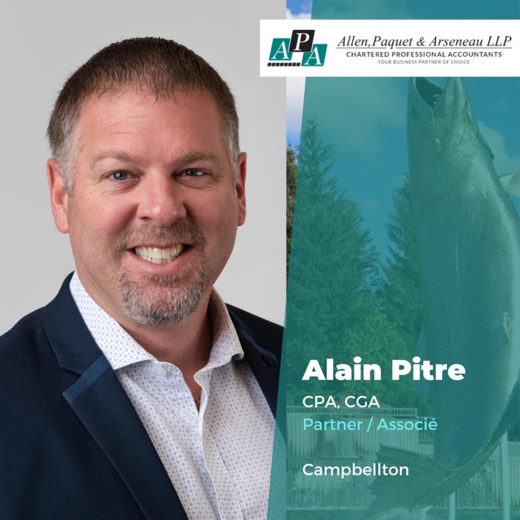 Alain Pitre, CPA, CGA