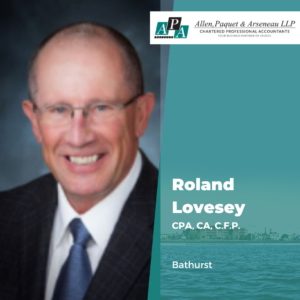 Roland Lovesey, CPA, CA, C.F.P.
