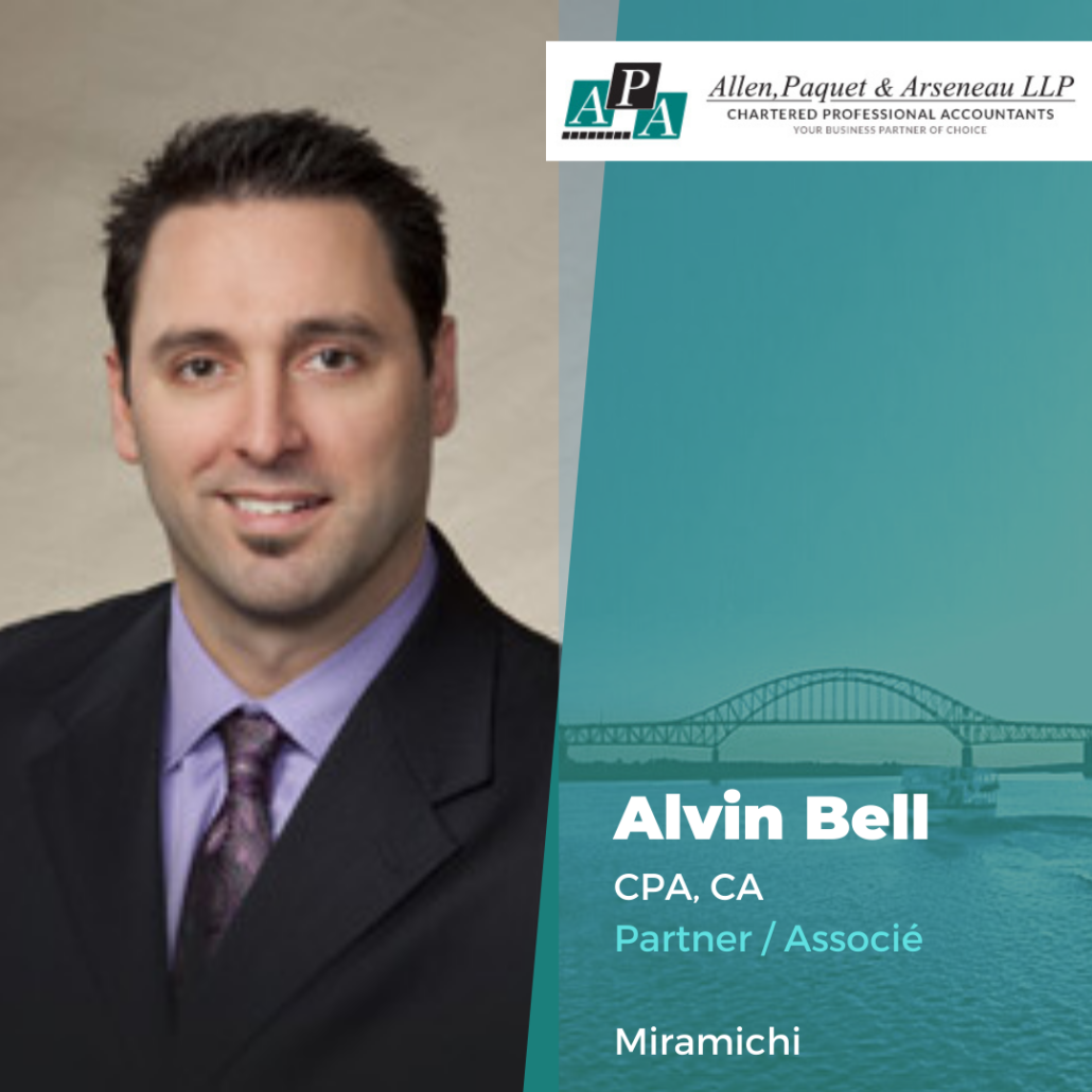 Alvin Bell, CPA, CA
