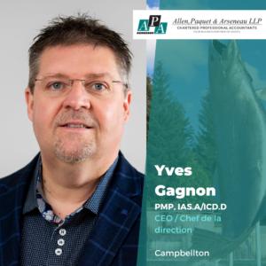 Yves Gagnon, PMP, ICD.D