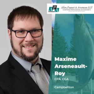 Maxime Arseneault-Roy, CPA, CGA