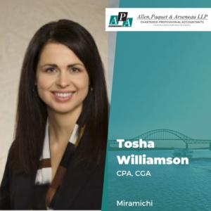 Tosha Williamson, CPA, CGA