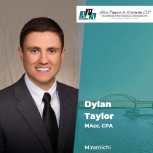 Dylan Taylor, MAcc, CPA