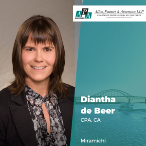 Diantha de Beer, CPA, CA