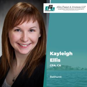Kayleigh Ellis, CPA, CA